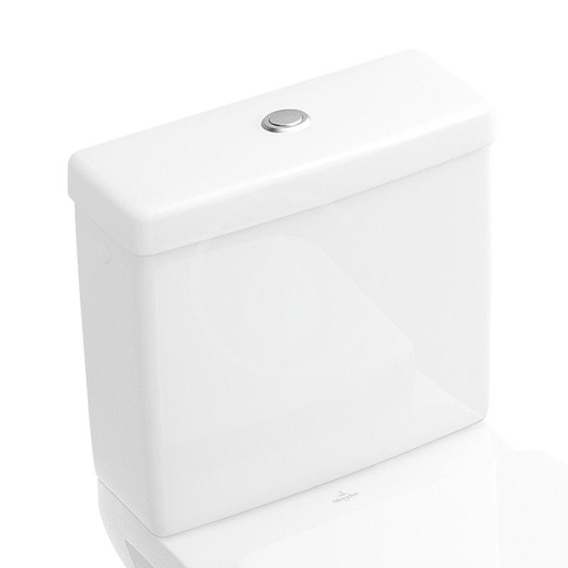 VILLEROY & BOCH - Architectura WC nádržka kombi, zadný/bočný prívod, alpská biela (5773G101)