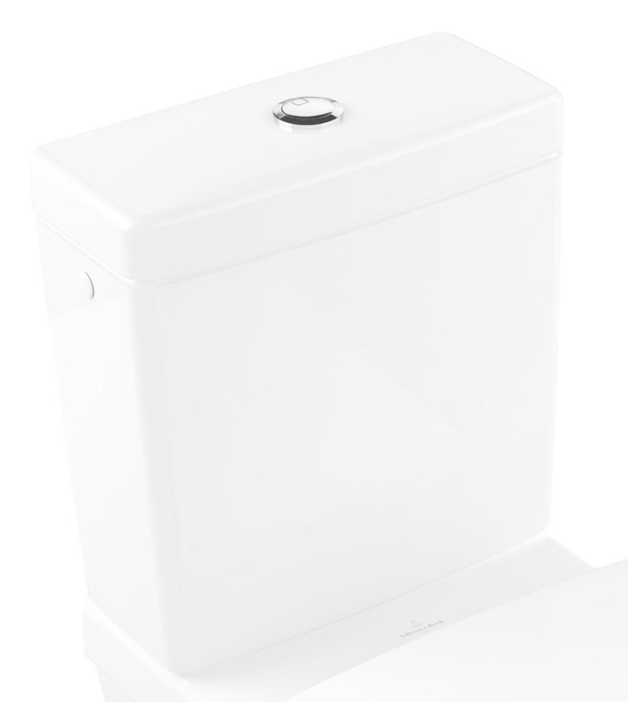 VILLEROY & BOCH - Architectura WC nádržka kombi, zadný/bočný prívod, CeramicPlus, alpská biela (5787G1R1)