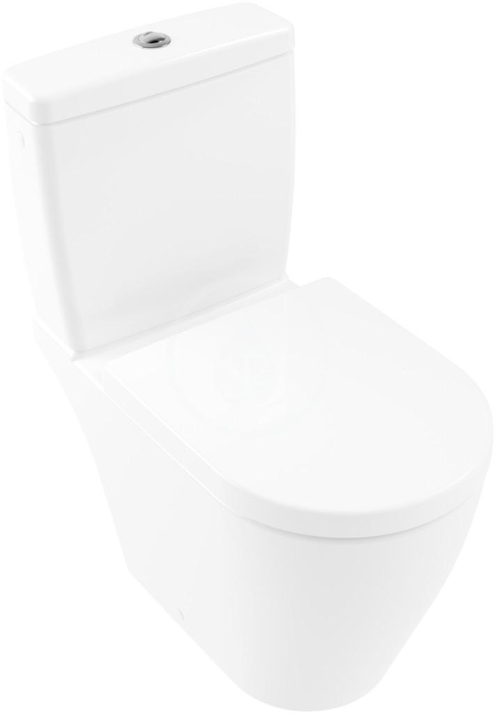 VILLEROY & BOCH - Avento WC kombi misa, DirectFlush, CeramicPlus, alpská biela (5644R0R1)