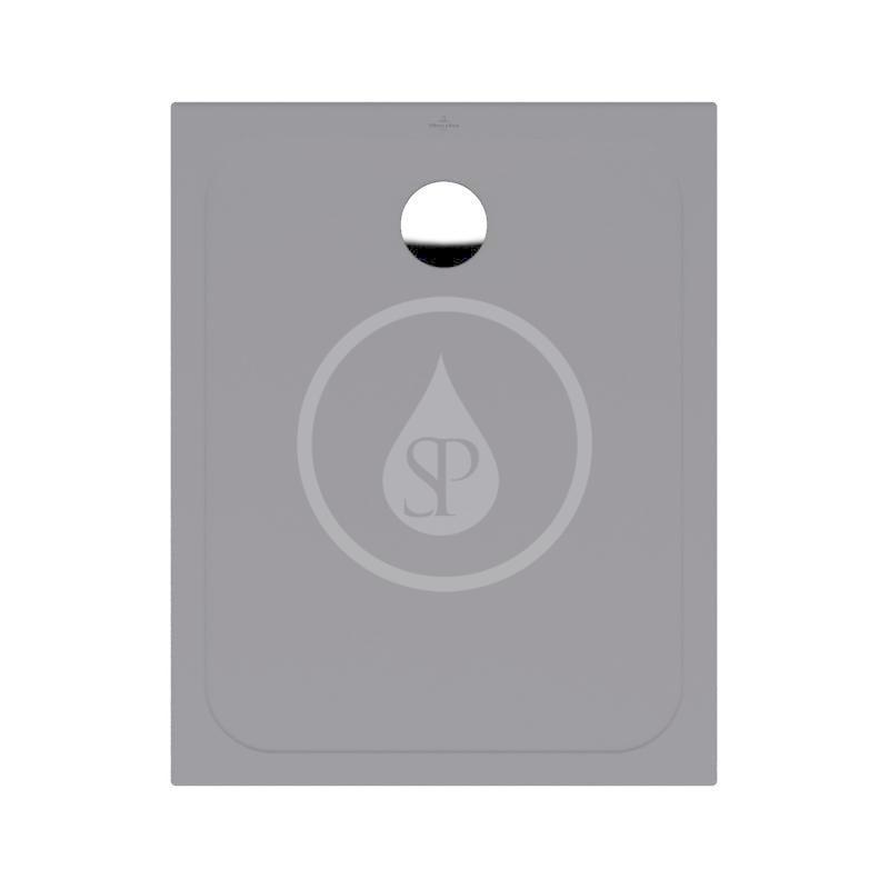 VILLEROY & BOCH - Lifetime Plus Sprchová vanička, 800x1000 mm, Anti-slip, Ardoise (6223J3W9)