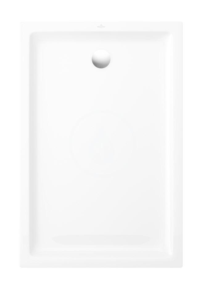 VILLEROY & BOCH - O.novo Plus Sprchová vanička, 800x1000 mm, Anti-slip, alpská biela (6210G301)