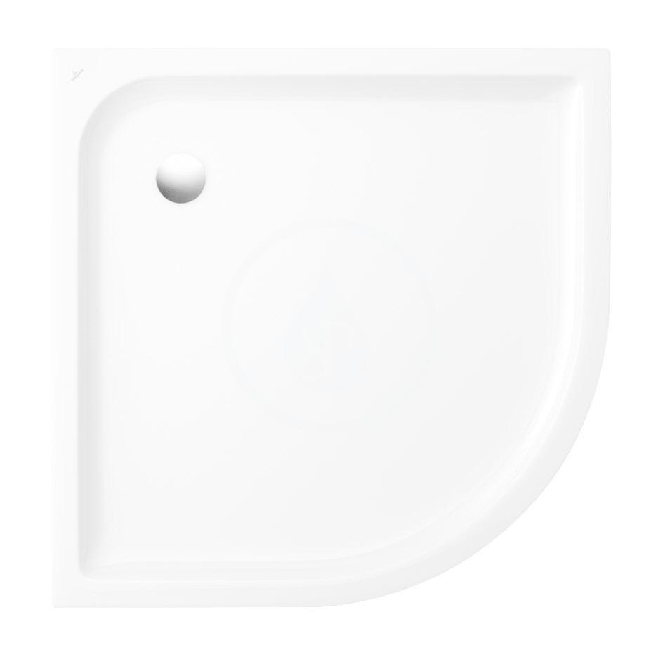 VILLEROY & BOCH - O.novo Plus Sprchová vanička, 800x800 mm, Anti-slip, alpská biela (6213C301)