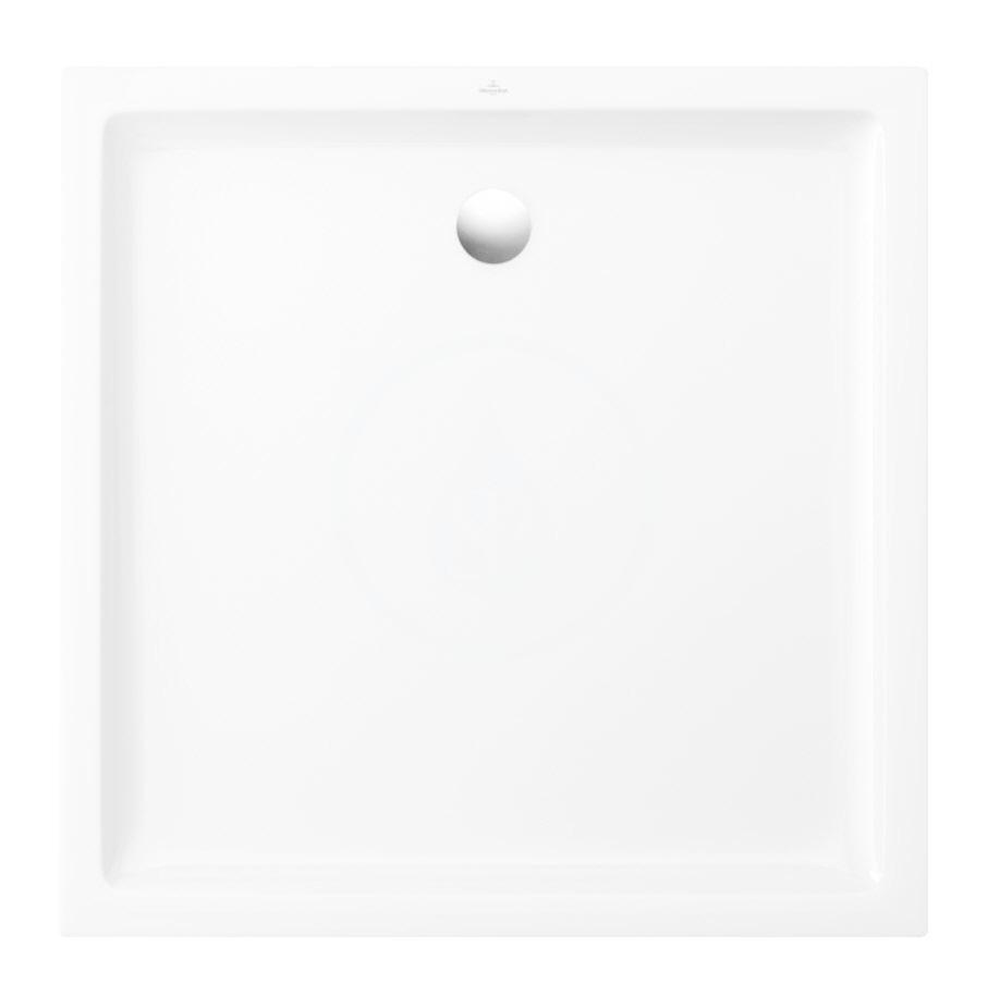 VILLEROY & BOCH - O.novo Plus Sprchová vanička, 900x900 mm, Anti-slip, alpská biela (6210D401)