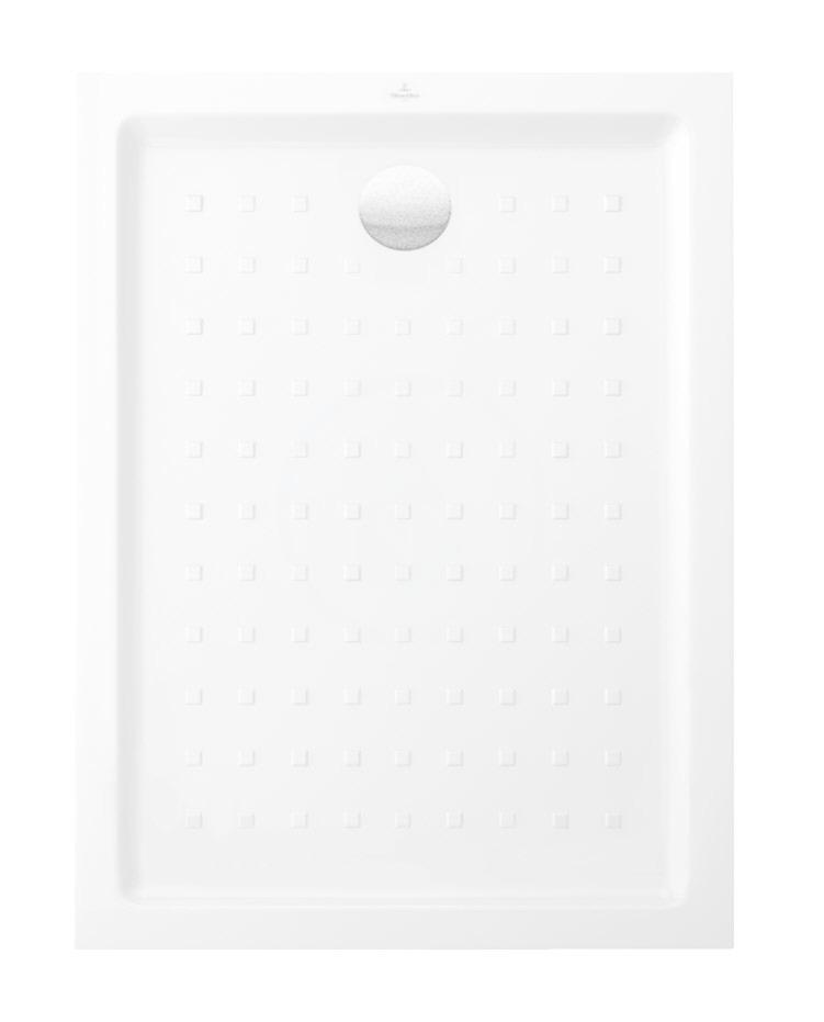 VILLEROY & BOCH - O.novo Sprchová vanička, 800x1000 mm, alpská biela (60618001)