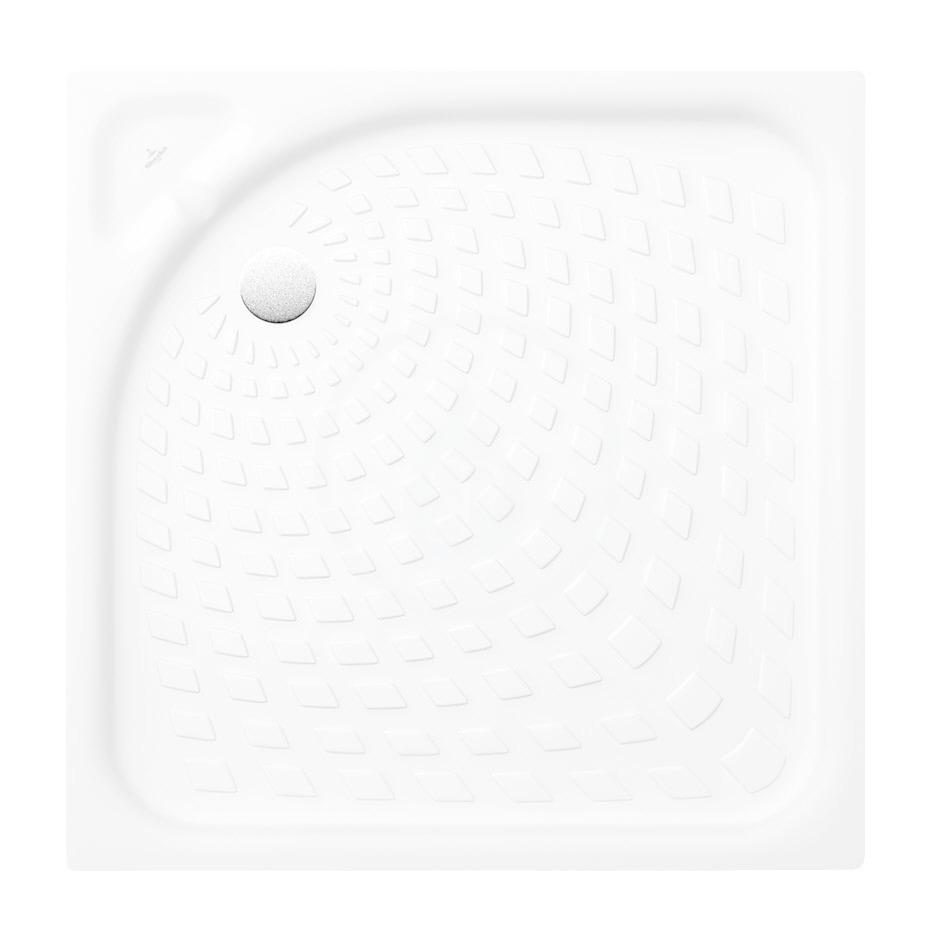 VILLEROY & BOCH - O.novo Sprchová vanička, 800x800 mm, alpská biela (62158001)