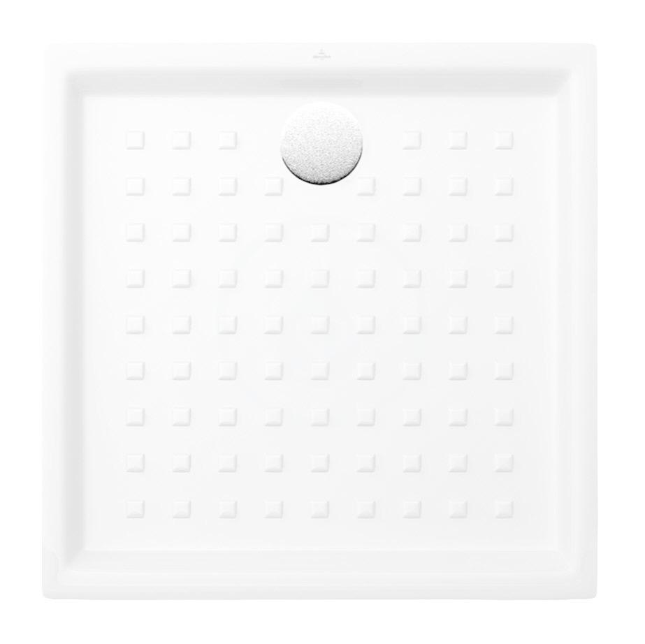VILLEROY & BOCH - O.novo Sprchová vanička, 900x900 mm, alpská biela (62219001)