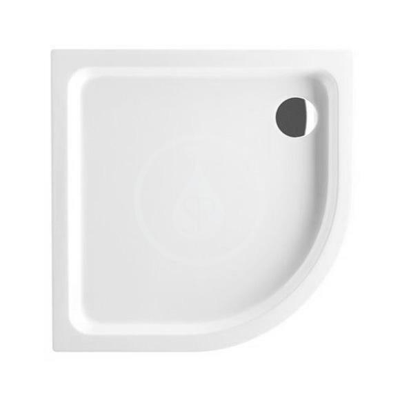 VILLEROY & BOCH - O.novo Sprchová vanička, 900x900 mm, alpská biela (UDA0906DEN4V-01)