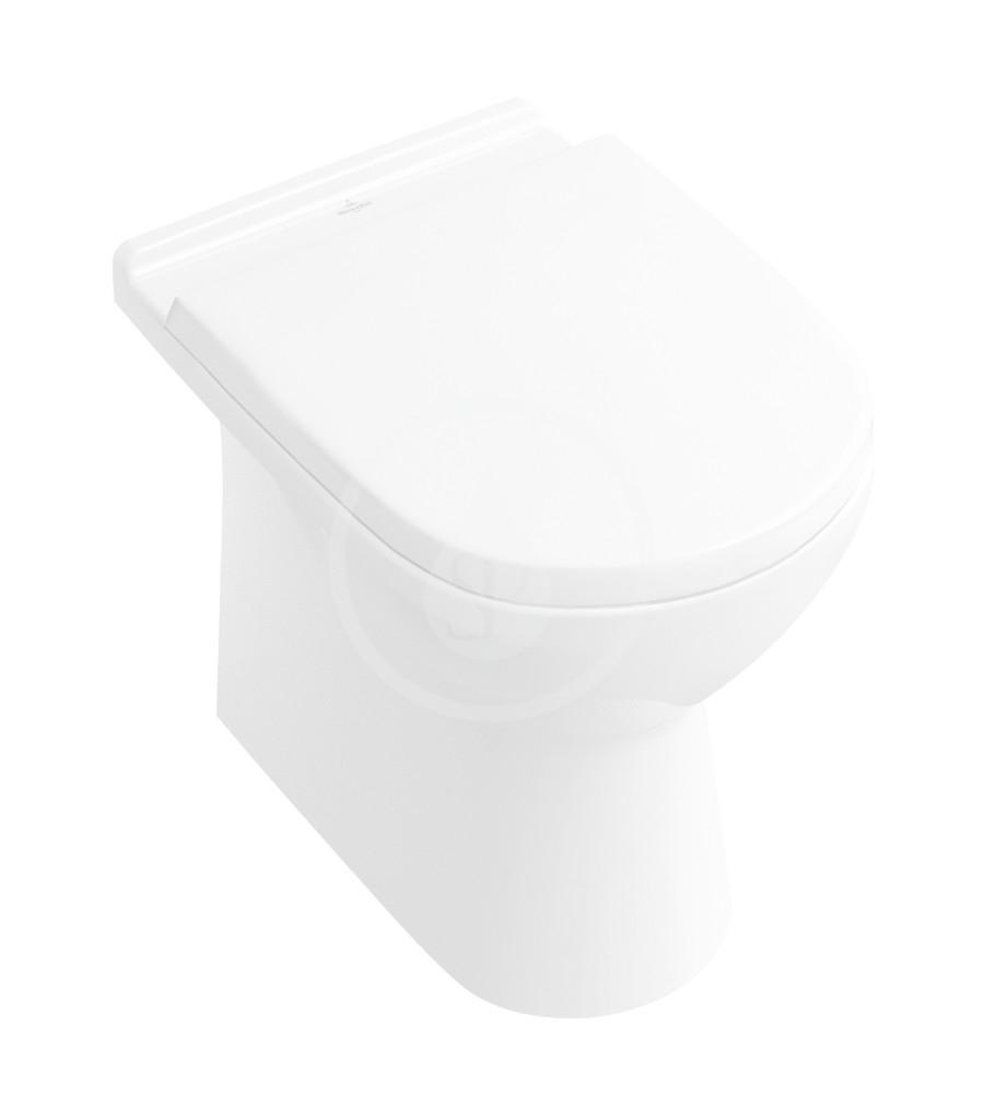 VILLEROY & BOCH - O.novo Stojace WC, Vario odpad, AntiBac, alpská biela (565710T1)