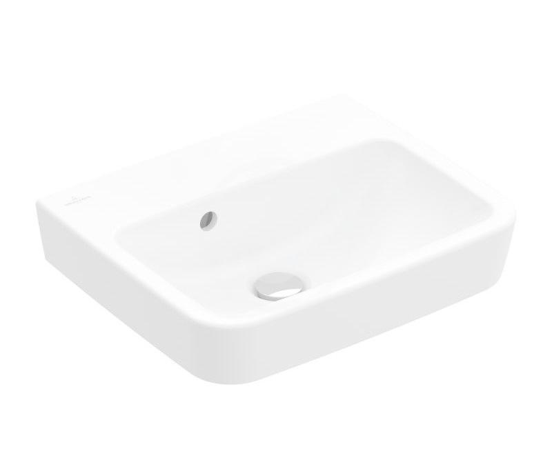 VILLEROY & BOCH - O.novo Umývadielko 500x370 mm, s prepadom, bez otvoru na batériu, alpská biela (43445201)