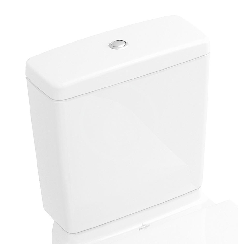 VILLEROY & BOCH - O.novo WC nádržka kombi, zadný/bočný prívod, alpská biela (5760G101)