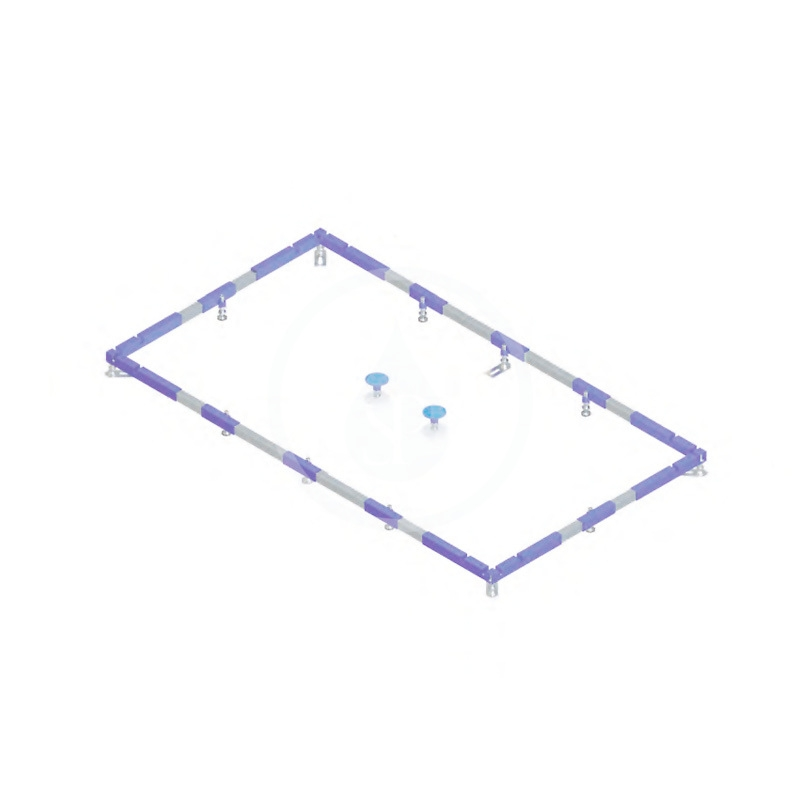 VILLEROY & BOCH - Příslušenství Inštalačný rám ViFrame na vaničky do 1000x1000 mm (U91412100)