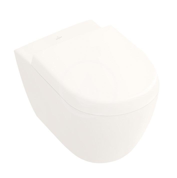 VILLEROY & BOCH - Subway 2.0 Závesné kompaktné WC, DirectFlush, CeramicPlus, Pergamon (5606R0R3)