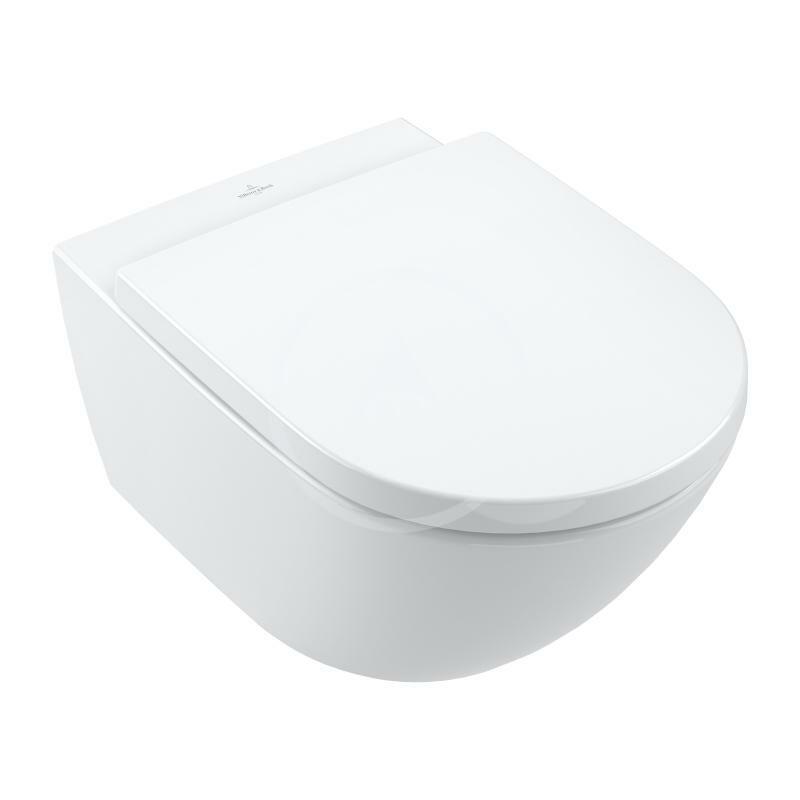 VILLEROY & BOCH - Subway 3.0 Závesné WC, TwistFlush, alpská biela (4670T001)