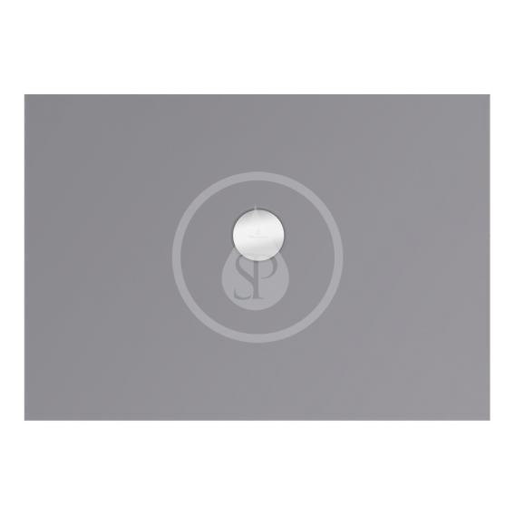 VILLEROY & BOCH - Subway Infinity Sprchová vanička, 700x1000 mm, Anti-slip, Ardoise (6229K1W9)
