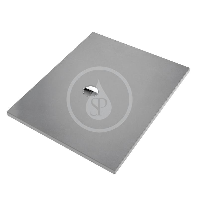 VILLEROY & BOCH - Subway Infinity Sprchová vanička, 700x900 mm, Anti-slip, Bernina Anthracite (6229G1VPA8)