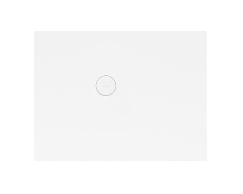 VILLEROY & BOCH - Subway Infinity Sprchová vanička, 750x900 mm, Anti-slip, alpská biela (6229F201)