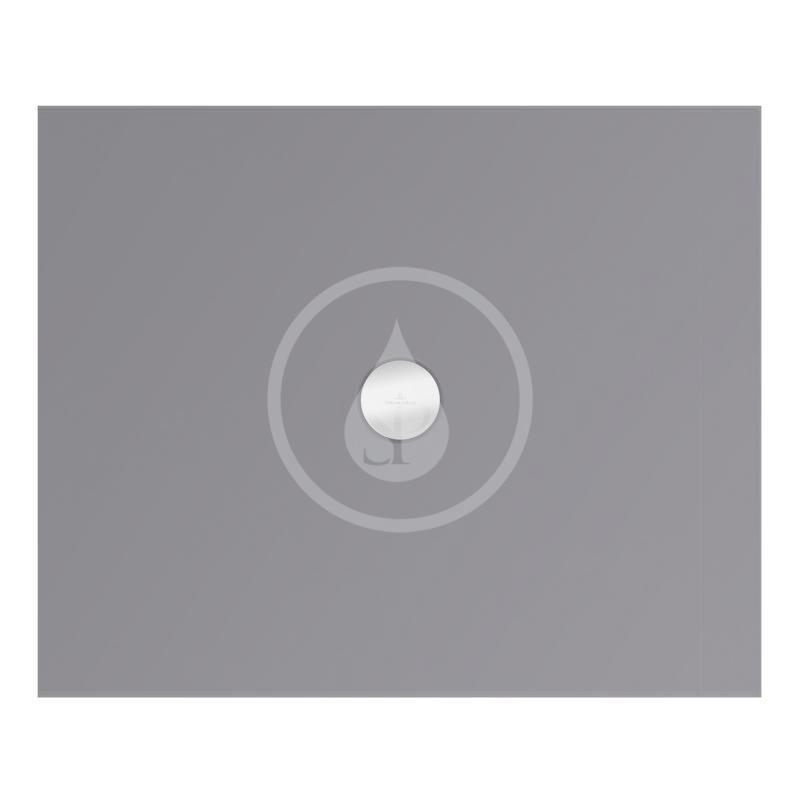 VILLEROY & BOCH - Subway Infinity Sprchová vanička, 800x1000 mm, Anti-slip, Ardoise (6229J3W9)