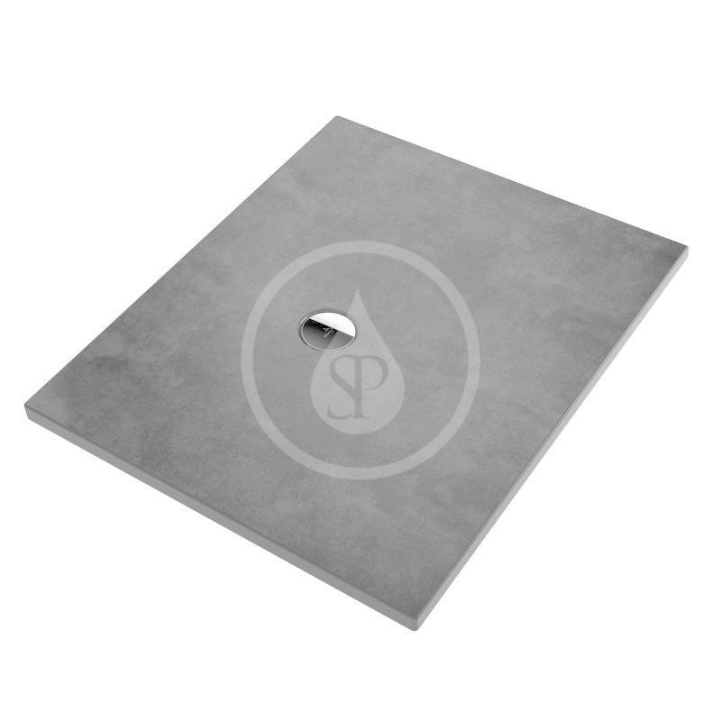 VILLEROY & BOCH - Subway Infinity Sprchová vanička, 800x1000 mm, Anti-slip, X-Plane Anthracite (6230L3VPA3)