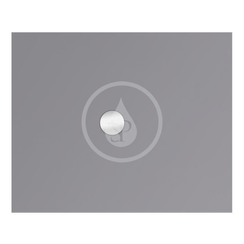 VILLEROY & BOCH - Subway Infinity Sprchová vanička, 900x1100 mm, Anti-slip, Ardoise (6230M4W9)
