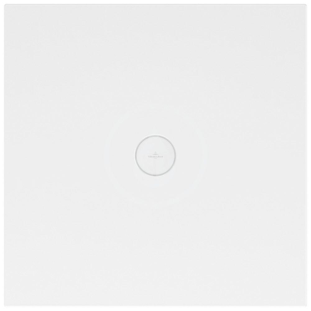 VILLEROY & BOCH - Subway Infinity Sprchová vanička, 900x900 mm, Anti-slip, alpská biela (6228H401)