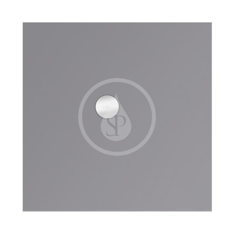VILLEROY & BOCH - Subway Infinity Sprchová vanička, 900x900 mm, Anti-slip, Ardoise (6228F4W9)