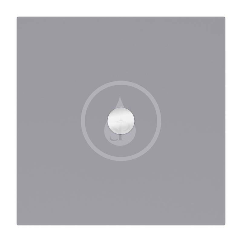VILLEROY & BOCH - Subway Infinity Sprchová vanička, 900x900 mm, Anti-slip, Ardoise (6228H4W9)