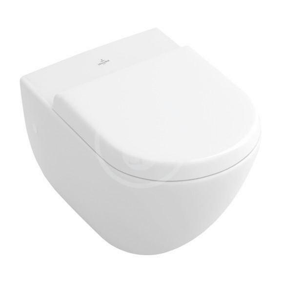 VILLEROY & BOCH - Subway Závesné WC, alpská biela (66031001)