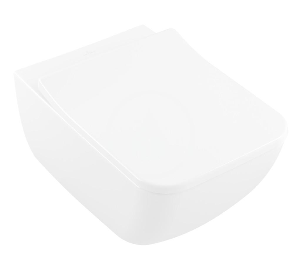 VILLEROY & BOCH - Venticello Závesné WC, DirectFlush, alpská biela (4611R001)